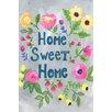 "Marmont Hill Leinwandbild ""Home Sweet Home"" von Jill Lambert, Typografische Kunst"