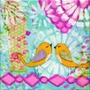 Marmont Hill 'Two Birds' by Jill Lambert Art Print Wrapped on Canvas