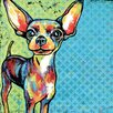 Marmont Hill 'Chihuahua Pop' by Stephanie Gerace Graphic Art Wrapped on Canvas