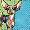 """Marmont Hill Leinwandbild """"Chihuahua Pop"""" von Stephanie Gerace, Grafikdruck"""
