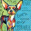 Marmont Hill 'Chihuahua II' by Stephanie Gerace Graphic Art Wrapped on Canvas