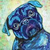 Marmont Hill Pug II' by Stephanie Gerace Art Print Wrapped on Canvas