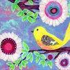 "Marmont Hill Leinwandbild ""Bird on Branch"" von Jill Lambert, Kunstdruck"