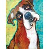 Marmont Hill 'Fawn Boxer' by Stephanie Gerace Graphic Art Wrapped on Canvas