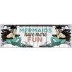 Marmont Hill Leinwandbild Mermaid Fun, Grafikdruck