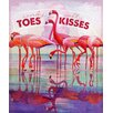 Marmont Hill Flamingo I Graphic Art Wrapped on Canvas