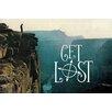 Marmont Hill Leinwandbild Get Lost Cliff, Grafikdruck