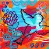 """Marmont Hill Leinwandbild """"Bird Outline"""" von Jill Lambert, Kunstdruck"""