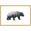"Marmont Hill ""Bear Forest"" by Amanda Greenwood Framed Graphic Art"