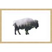 "Marmont Hill ""Bison Forest"" by Amanda Greenwood Framed Graphic Art"