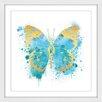 """Marmont Hill Gerahmtes Poster """"Butterfly"""" von Amanda Greenwood, Kunstdruck"""