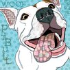Marmont Hill 'Pittie' by Stephanie Gerace Graphic Art Wrapped on Canvas