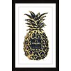 "Marmont Hill ""Pineapple"" by Amanda Greenwood Framed Graphic Art"