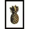 """Marmont Hill """"Pineapple"""" by Amanda Greenwood Framed Graphic Art"""