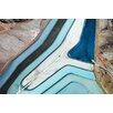 Marmont Hill Leinwandbild Winding River, Fotodruck