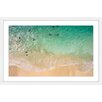 "Marmont Hill ""Splash Near Shore"" Framed Photographic Print"