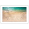 "Marmont Hill ""Beach Goers"" Framed Photographic Print"
