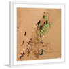 Marmont Hill 'Green Surf Boards' by Karolis Janulis Framed Photographic Print
