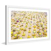 Marmont Hill 'Yellow Umbrellas' Framed Photographic Print