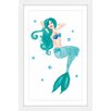 Marmont Hill 'Mermaid' by Molly Rosner Framed Painting Print