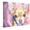 "Marmont Hill ""Chihuahua"" by George Dyachenko Painting Print on Wrapped Canvas"