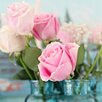 Marmont Hill 'Pink Roses' by Sylvia Cook Photographic Print on Wrapped Canvas