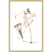 Marmont Hill 'Dance Umbrella' by Claire Thompson Framed Painting Print