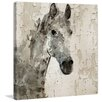Marmont Hill 'Glaeta Horse' by Irena Orlov Painting Print on Wrapped Canvas