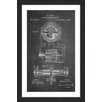 Marmont Hill 'Tesla Motor 1888 Chalk' by Steve King Framed Graphic Art