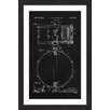 Marmont Hill 'Snare Drum 1939 Black Paper' by Steve King Framed Graphic Art
