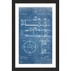 Marmont Hill 'Telescope 1891 Blueprint' by Steve King Framed Graphic Art