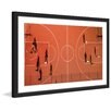 Marmont Hill 'Basketball Court' by Karolis Janulis Framed Phototgraphic Print