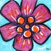 Marmont Hill 'Hawaii Flower' by Tori Campisi Painting Print on Wrapped Canvas