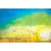 Marmont Hill 'Highway Auspices' by Tracy Silva Barbosa Painting Print on Wrapped Canvas