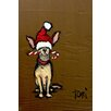 Marmont Hill 'Chihuahua' by Tori Campisi Painting Print on Wrapped Canvas
