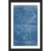 Marmont Hill 'Microscope 1886 Blueprint' by Steve King Framed Graphic Art