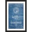 Marmont Hill 'Tesla Motor 1888 Blueprint' by Steve King Framed Graphic Art