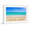 "Marmont Hill ""Relax"" Framed Photographic Print"