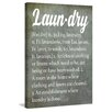 Marmont Hill 'Vintage Laundry' by Diana Alcala Typography on Wrapped Canvas