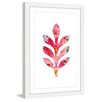 Marmont Hill 'Floral Leaf' by Diana Alcala Framed Graphic Art
