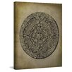 Marmont Hill 'Mayan Calendar' by Diana Alcala Graphic Art on Wrapped Canvas