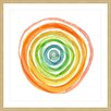Marmont Hill Spiral Rainbow Framed Art Print