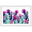 Marmont Hill Dancing Pineapples Framed Art Print
