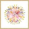 Marmont Hill Floral Explosion Framed Art Print