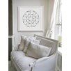 """Marmont Hill """"Floral Mechanism"""" Framed Graphic Art"""