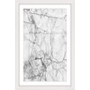 Marmont Hill Cracks Framed Graphic Art