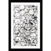 Marmont Hill Honeycombs Framed Graphic Art