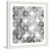 """Marmont Hill """"Bubble Dimension"""" Framed Graphic Art"""