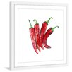 Marmont Hill 'Cheyenne Peppers' by Rachel Byler Framed Painting Print