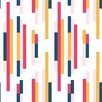 "Bobby Berk Home Bars 33' x 20.5"" Geometric Wallpaper"